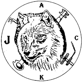 Logo dekodérů Wolf Wittner